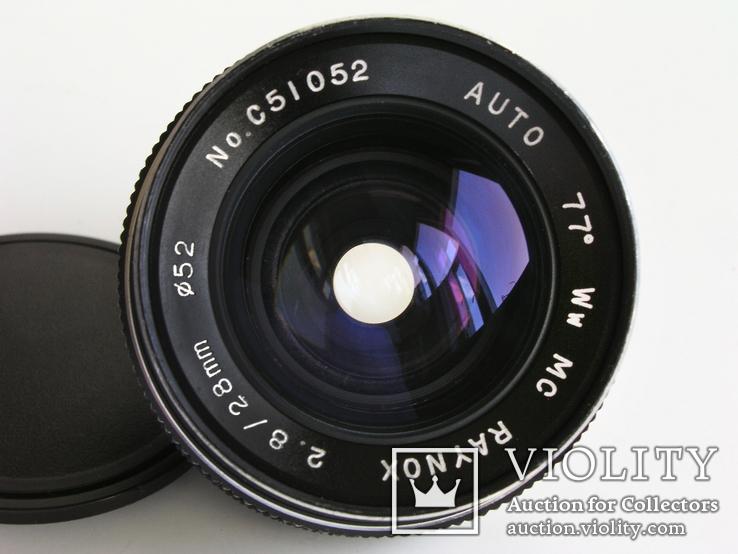 Объектив Raynox МС 2,8/28 для Minolta MD, фото №4