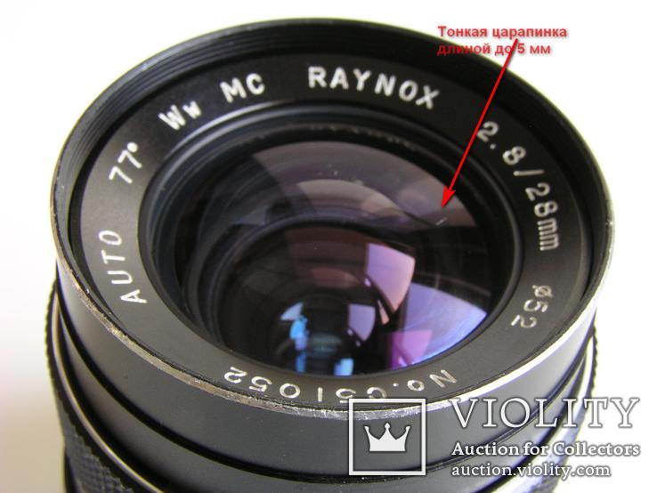 Объектив Raynox МС 2,8/28 для Minolta MD, фото №5
