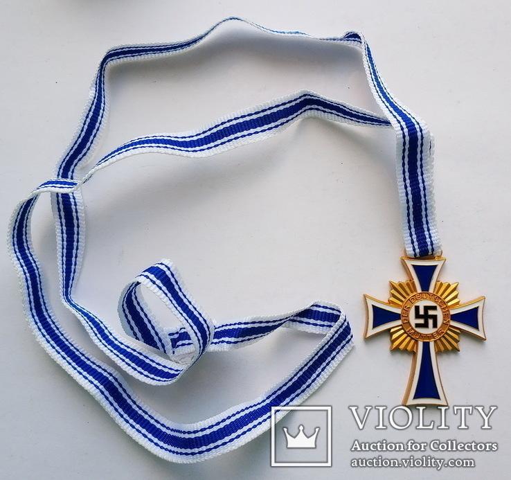 Германия. Третий Рейх. Почетный крест Немецкой матери І степени (копия), фото №2