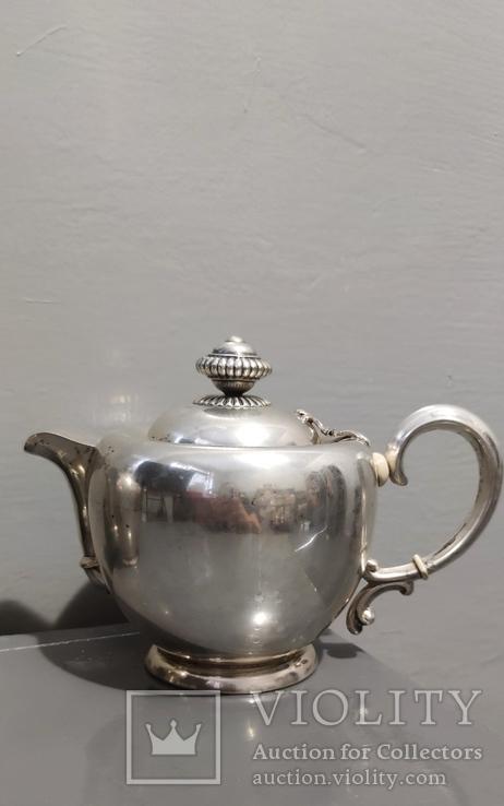 Чайный Сервиз серебро, фото №4
