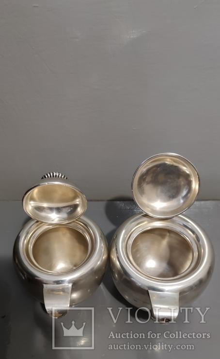 Чайный Сервиз серебро, фото №6