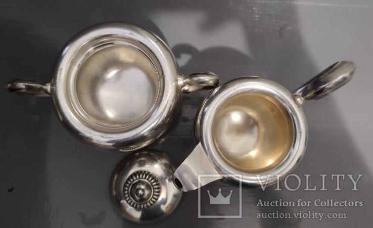 Чайный Сервиз серебро, фото №10