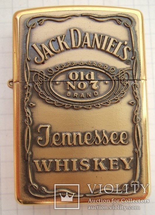 """Зажигалка """"Zippo Jack Daniel""""s"""" 2003 года., фото №3"""