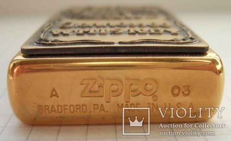 """Зажигалка """"Zippo Jack Daniel""""s"""" 2003 года., фото №5"""
