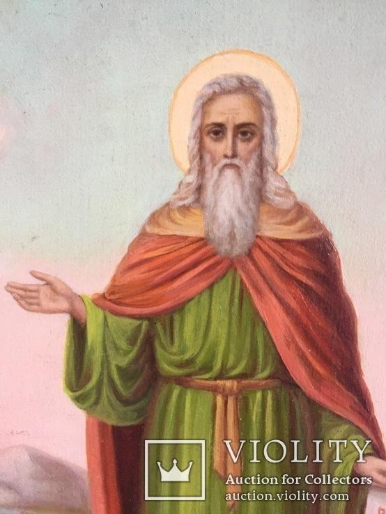 Икона Святой Илья, фото №5