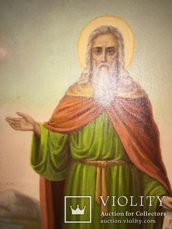 Икона Святой Илья, фото №6