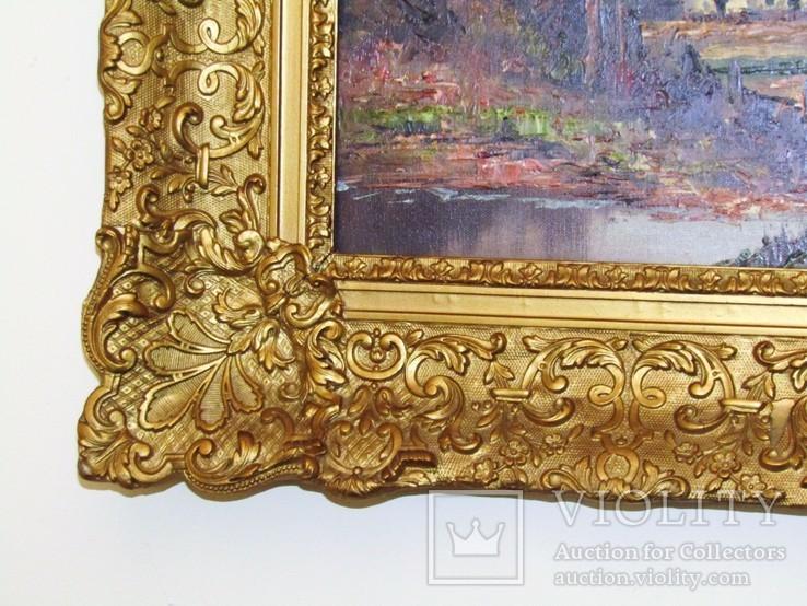 Картина. Пейзаж. Холст/масло.59 х 69 см., фото №9