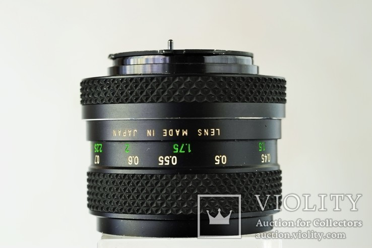 Светосильный объектив, Voigtlander Color-Ultron 1,4/55 AR Rolleiflex QBM байонерт, фото №4