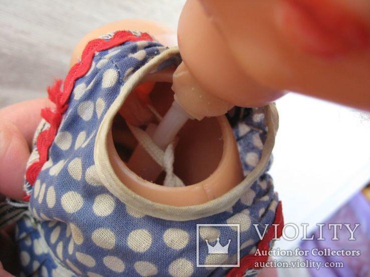 Кукла СССР на резинках 50 см, фото №12