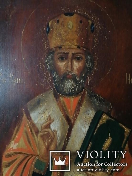 Икона святой Николай Чудотворец, фото №4