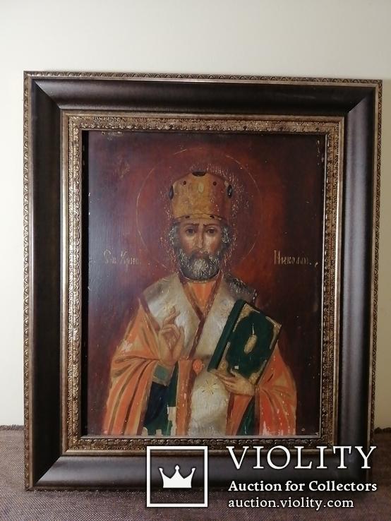 Икона святой Николай Чудотворец, фото №2