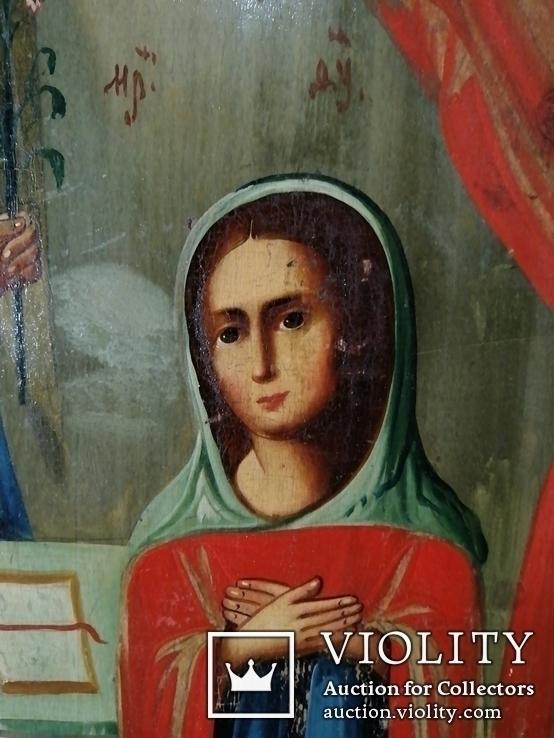 Икона Благовещенье Пресвятой Богородицы, фото №7