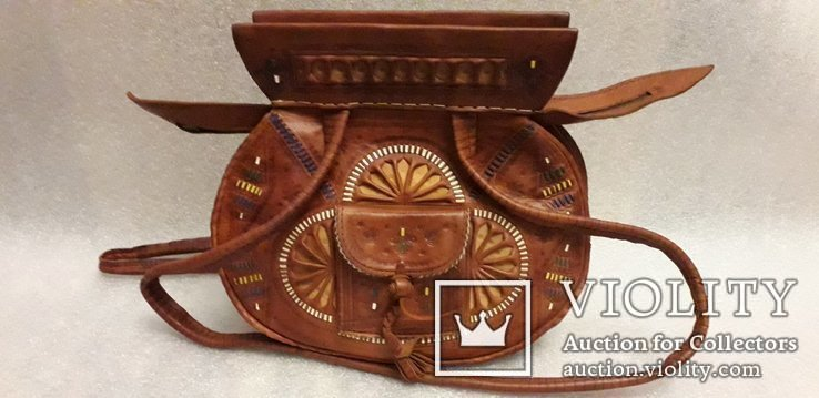 Сумочка в етно стилі ручної роботи, фото №2