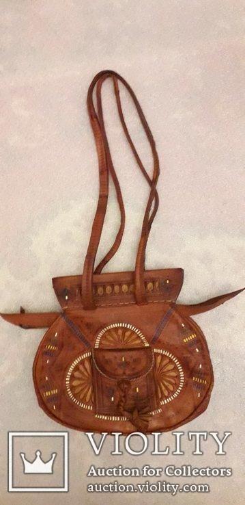 Сумочка в етно стилі ручної роботи, фото №6