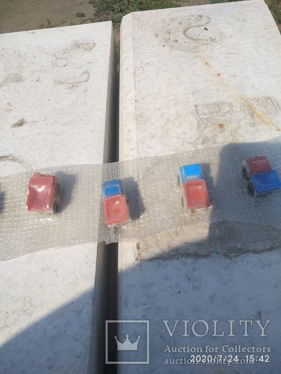 Машинки пластик не распакованые, фото №5