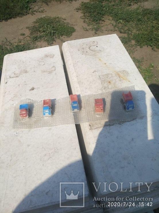 Машинки пластик не распакованые, фото №2