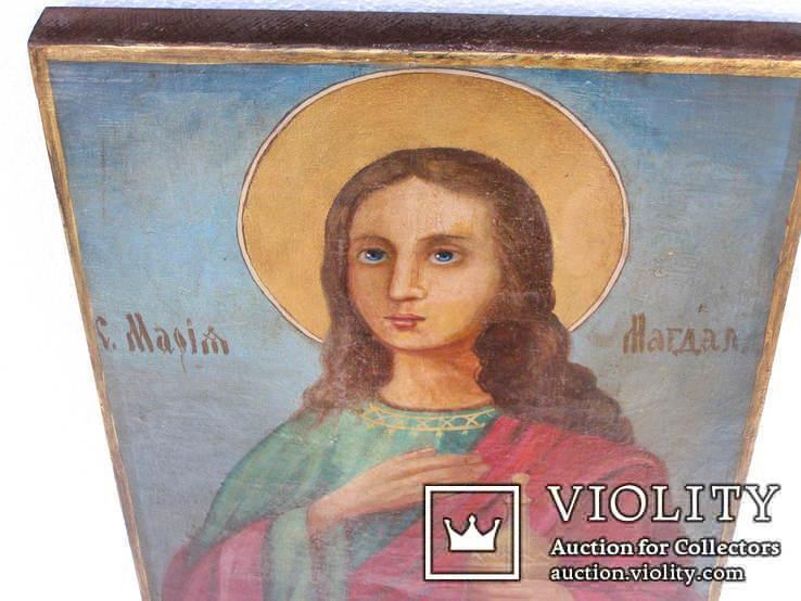 Икона мария магдалина 450мм Х 330мм, фото №3