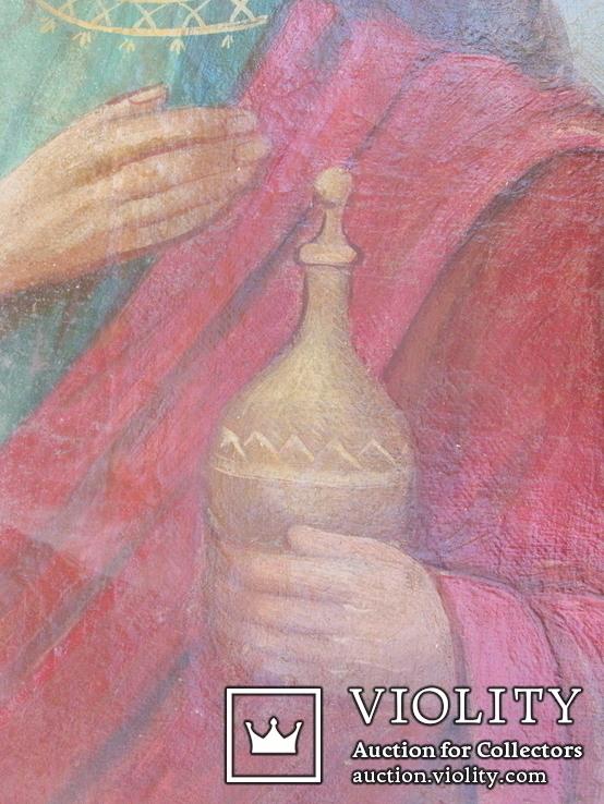 Икона мария магдалина 450мм Х 330мм, фото №7