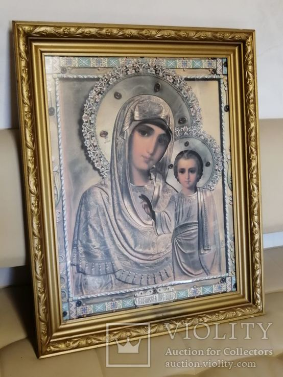 Икона Божья Матерь. Современная., фото №2