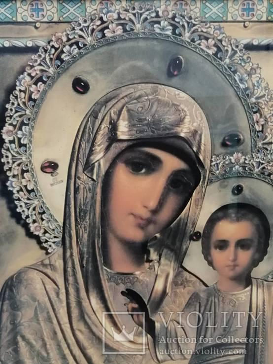 Икона Божья Матерь. Современная., фото №4