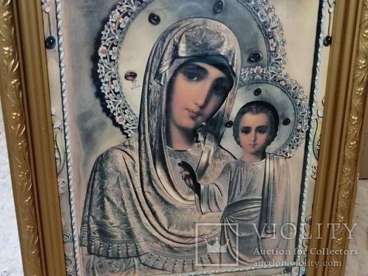 Икона Божья Матерь. Современная., фото №6