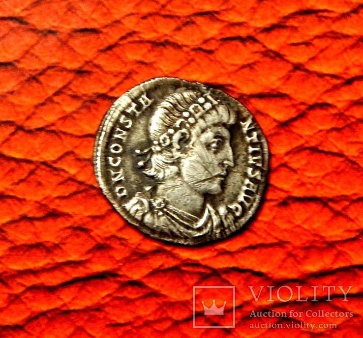 Силиква Констанций II, 342 год Мон. двор Кизик