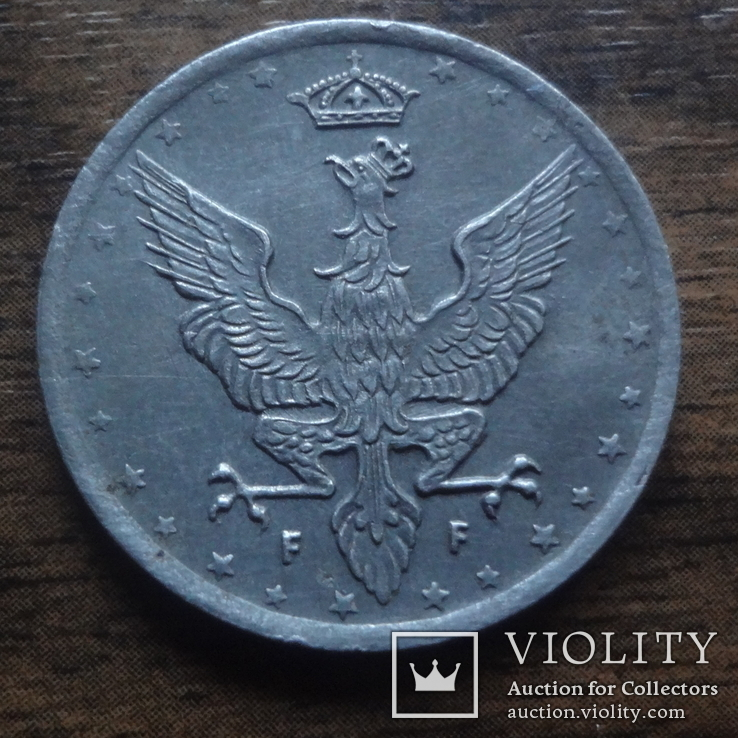 20 феннигов  1918 Королевство Польское     (Лот.1.10)~, фото №2
