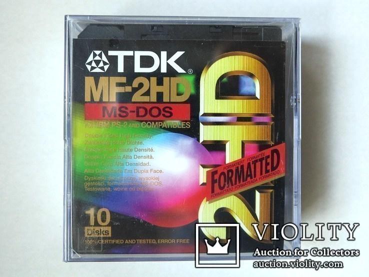 Дискеты TDK, фото №2