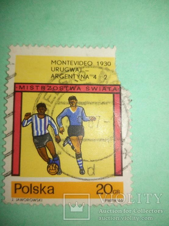 Марка Польши футбол