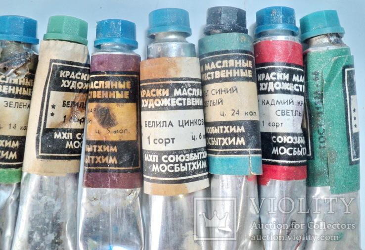 Масляные краски СССР, фото №5
