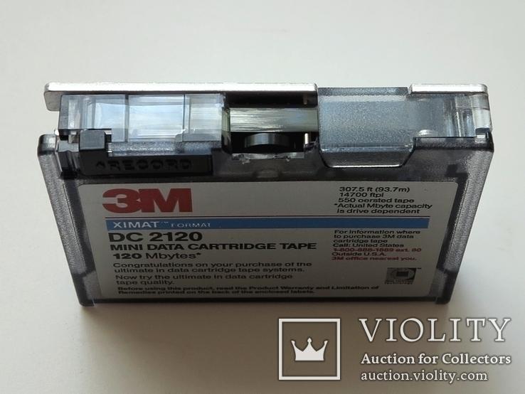Кассета картридж стримера 120 Мб, фото №4