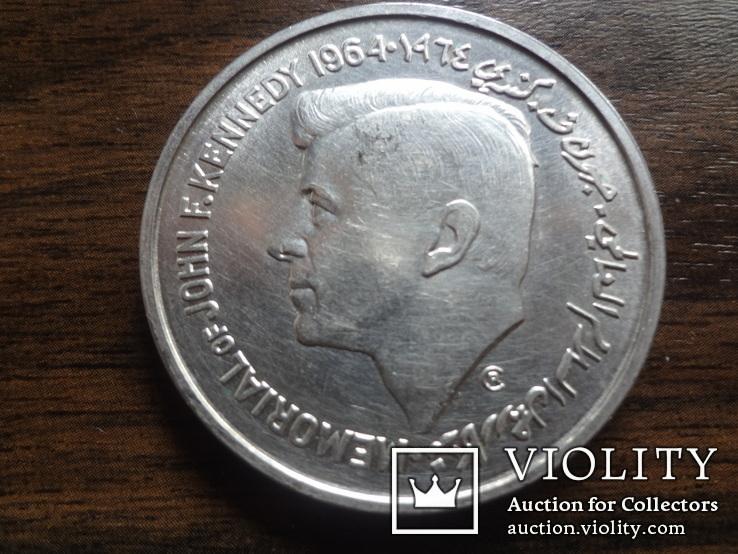 5 рупий 1964 Шарджа Кеннеди серебро    (Л.9.5)~, фото №3