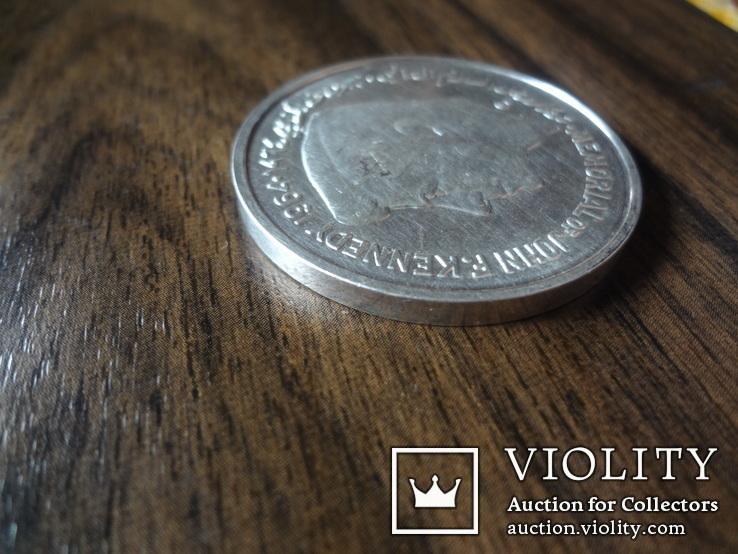 5 рупий 1964 Шарджа Кеннеди серебро    (Л.9.5)~, фото №6