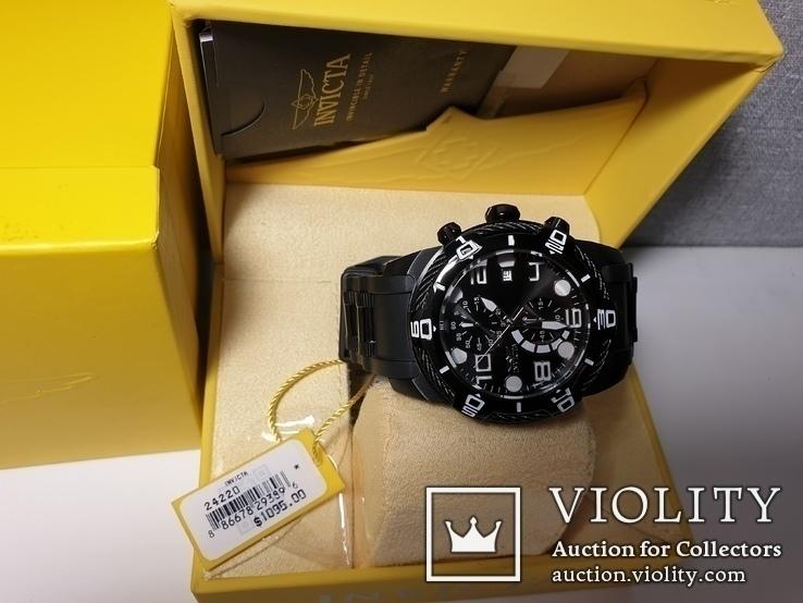 Мужские часы Invicta Bolt Men 24215 Новые Крупные 50мм код 2, фото №5