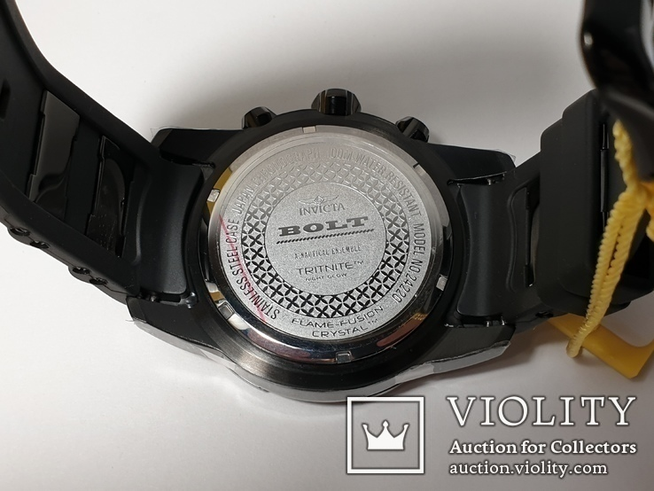 Мужские часы Invicta Bolt Men 24215 Новые Крупные 50мм код 2, фото №11