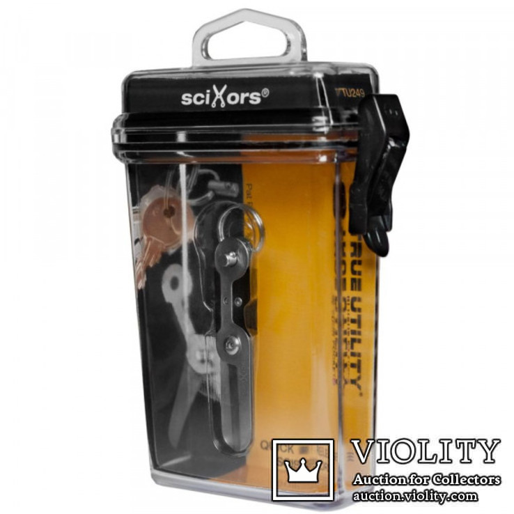 Брелок-ножницы True Utility sciXors TU249, фото №6