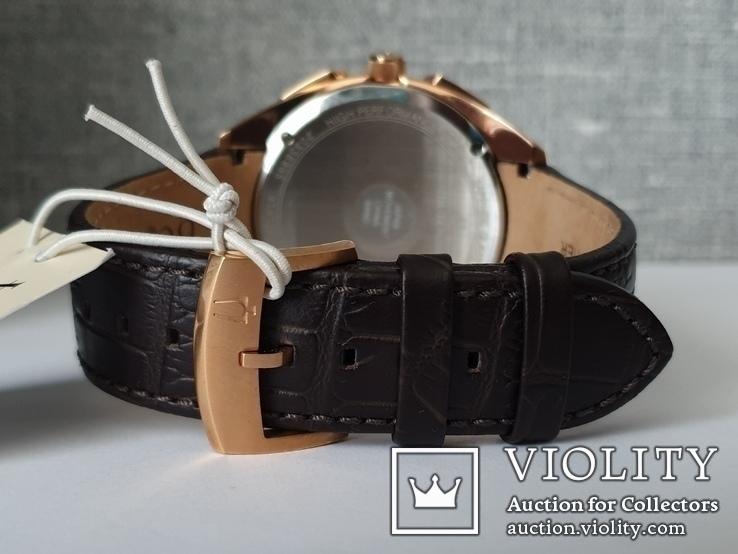 Мужские часы Bulova CURV 97A124 262kHz Chronograph Sapphire Новые, фото №8