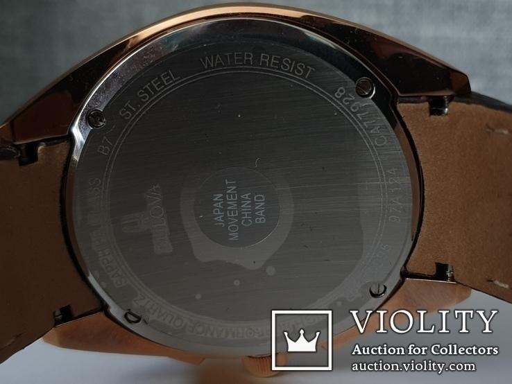 Мужские часы Bulova CURV 97A124 262kHz Chronograph Sapphire Новые, фото №9