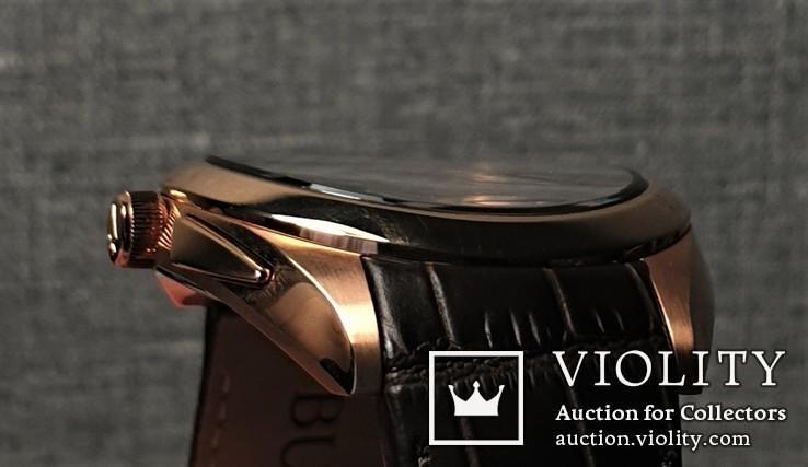 Мужские часы Bulova CURV 97A124 262kHz Chronograph Sapphire Новые, фото №12