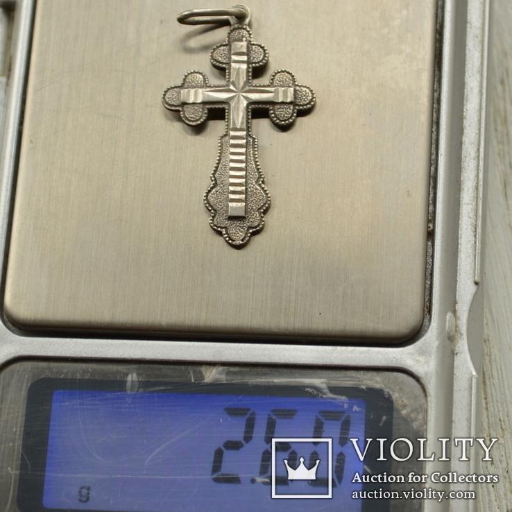 Крестик Серебро 925, фото №4