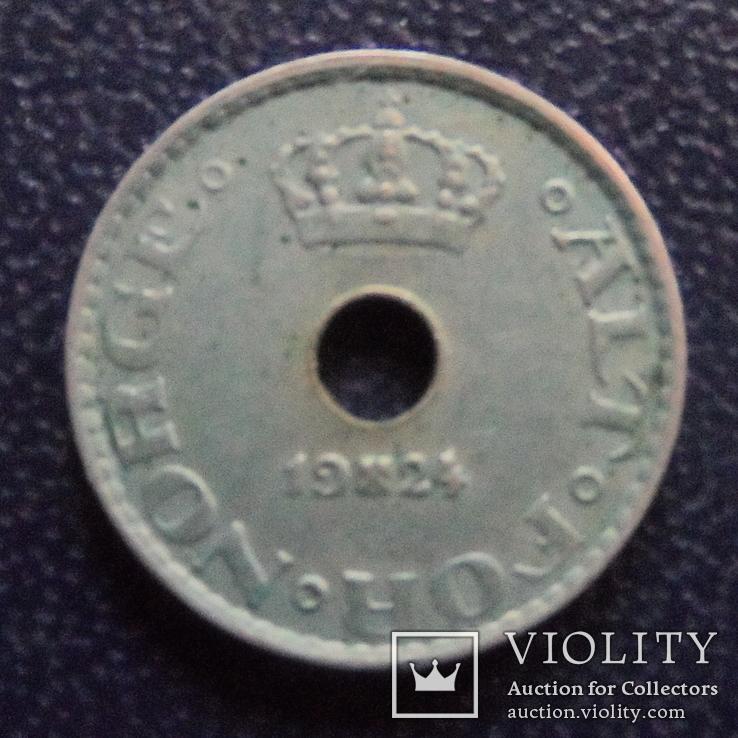 10  эре 1924 Норвегия  (е.5.1)~, фото №3