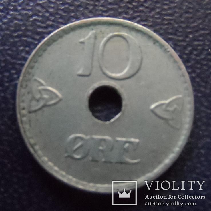10  эре 1924 Норвегия  (е.5.1)~, фото №4