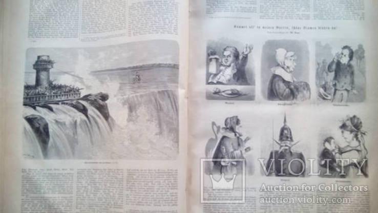 Uber Land und Meer 1869 -1870 ( Над землей и морем ), фото №10