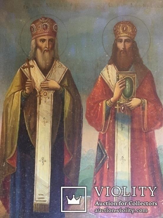 Икона Св. Кирилл и Св. Афанасий, фото №9
