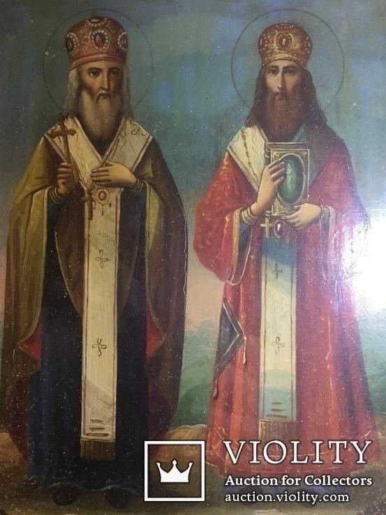 Икона Св. Кирилл и Св. Афанасий, фото №10