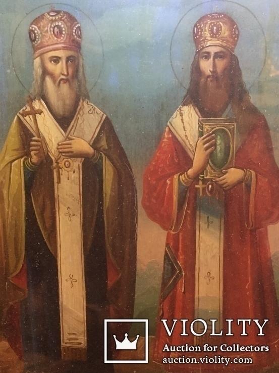 Икона Св. Кирилл и Св. Афанасий, фото №11