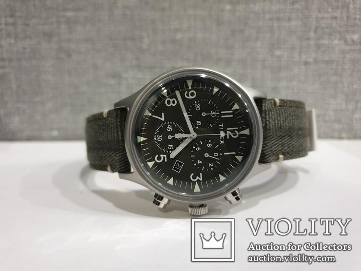 Мужские часы Timex MK1 Chrono Tx2r68600 новые код 2, фото №3