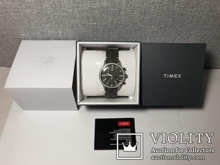 Мужские часы Timex MK1 Chrono Tx2r68600 новые код 2, фото №6