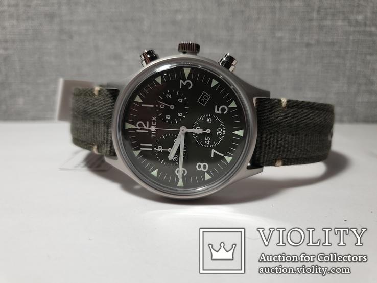 Мужские часы Timex MK1 Chrono Tx2r68600 новые код 2, фото №10
