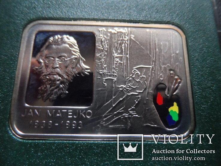 20 злотых 2002  Польша серебро, фото №3